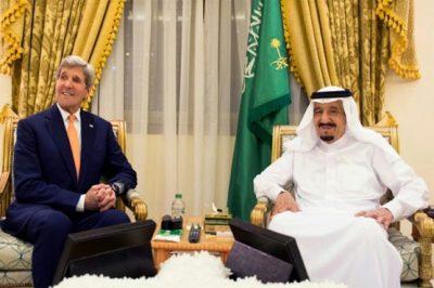 Shah Salman and John Kerry
