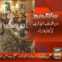 Shahbaz Sharif,Gilani House Visit-Breaking News – Geo