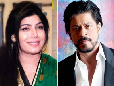 Shahrukh Khan and Shabnam Majeed