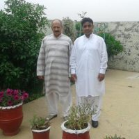 Syed Abrar Shah and Agha Jan Mushtaq Shah Met