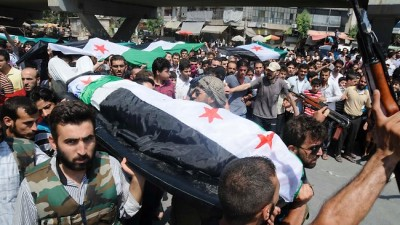 Syrian Muslims Funeral