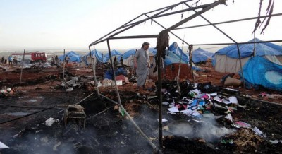 Syrian Refugee Camp Attack
