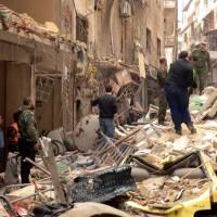 Syrian Rocket Fire