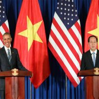 Tran dai Quang and Obama