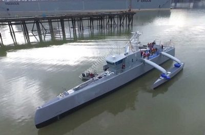 US Navy High Speed Boat