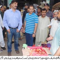 Adc and Dpo Visit Sabzi Mandi