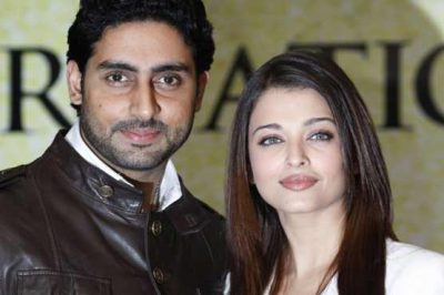 Aishwarya and Abhishek