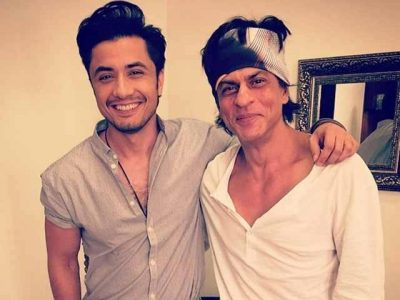 Ali Zafar and Shahrukh