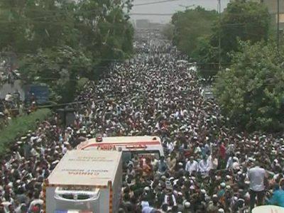 Amjad Sabri Funeral