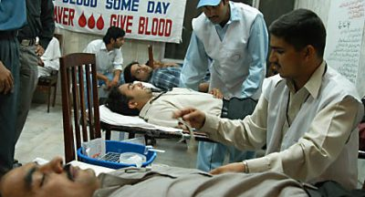 Blood Donation in Pakistan