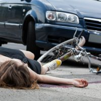 Car and Cycle Accident