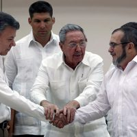 Colombian and FARC Rebels Contract