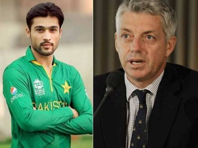 David Richardson and  Mohammad Amir