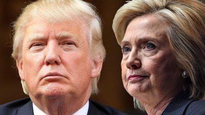 Donald Trump and Hillary