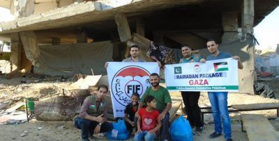 FIF Give Relief to Syria