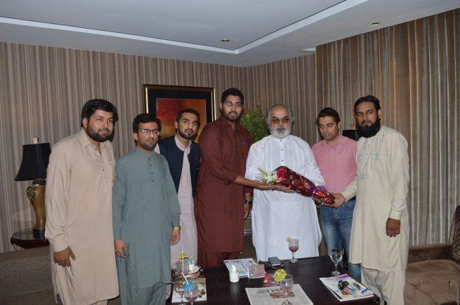 Farrukh Shahbaz Warraich Meet Nawab ghons