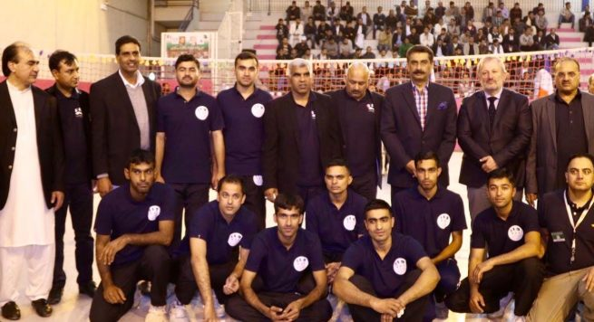 Haidari Volleyball Club Win