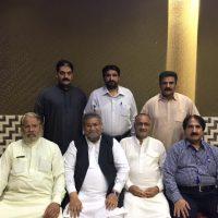 Javed Akhtar Javed  Honors Iftar Dinner