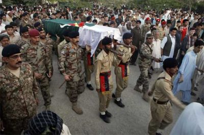 Major Ali Jawad Funeral