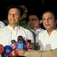 Naeem Bukhari with Imran Khan