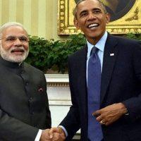 Narendra Modi meets Obama