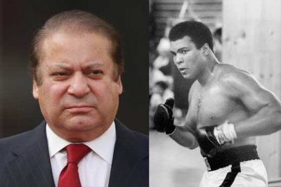 Nawaz Sharif and Mohammad Ali