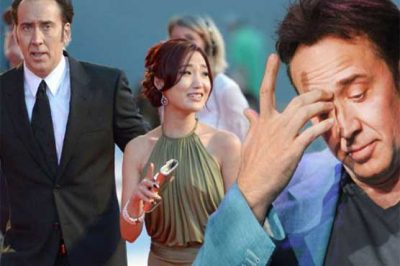 Nicolas Cage and Alice Kim