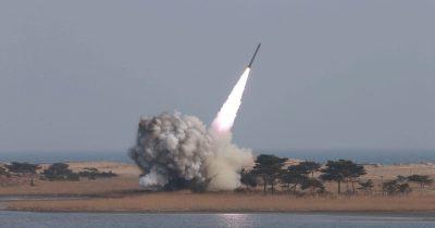 North Korea-Missile Test