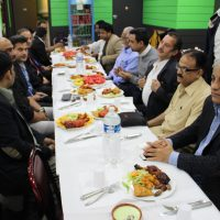 PTI France Syed Zarif Hussain Iftar Dinner