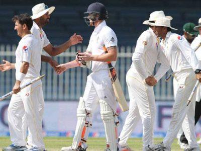 Pak England-Test Series