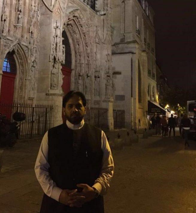 Paris Church Event