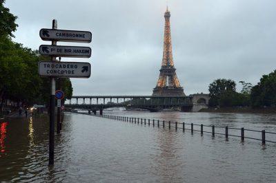 Paris rain 2016