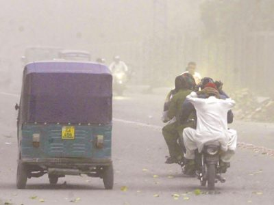 Peshawar Storm