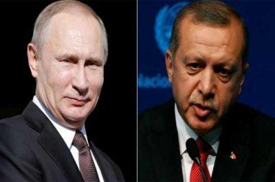 Putin and Tayyip