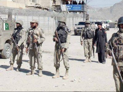Torkham Border Forces