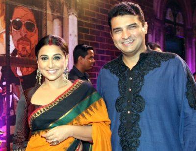 Vidya Balan and Husband