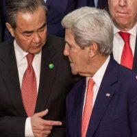 Wang Yi  and John Kerry