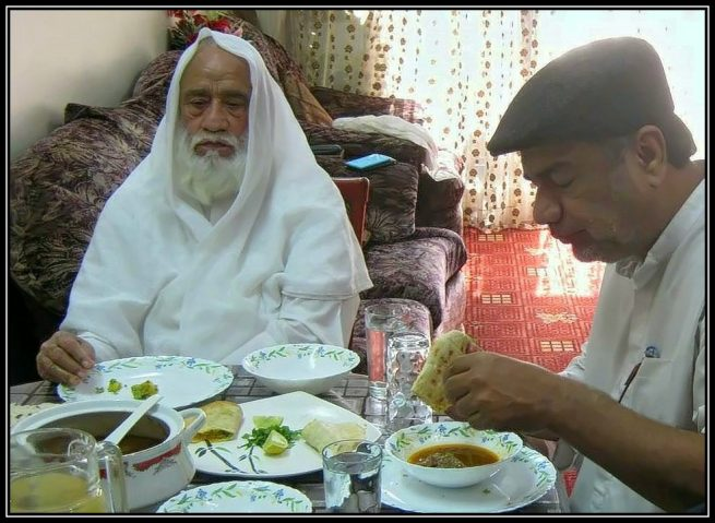 At Lunch with Maulana Ali Baqir Najafi on 30th of January 2015