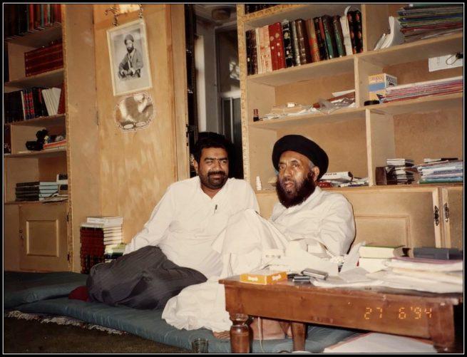 With Ayatollah Tayyab al Jazaeyri 27th of June 1994