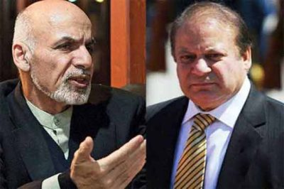 Afghan President Telephones PM Nawaz