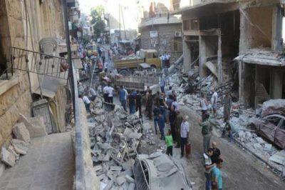 Aleppo Rebels Attack