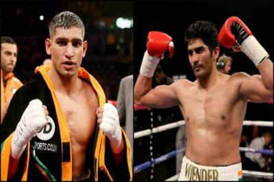 Amir Khan and Vijender Singh