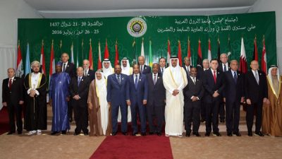 Arab League Chief-Meeting