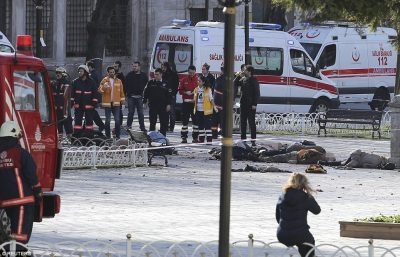 Attack in Istanbul