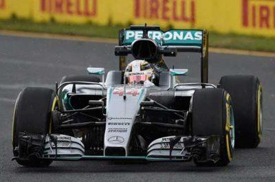 British Formula One Race