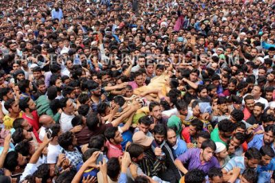 Burhan Wani-Funeral