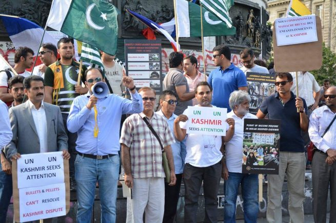 Burhan Wani Martyrdom Kashmiris India Barbarism Against Protests