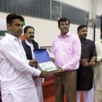 Chaudhry Ali Hassan Receive Shield