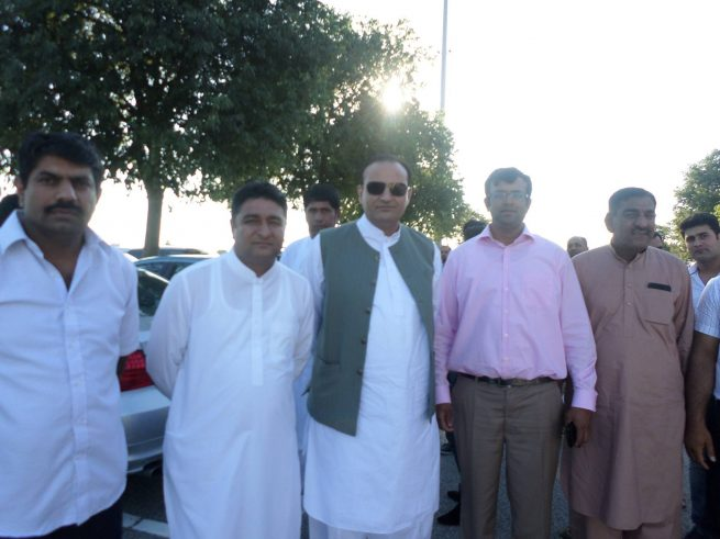 Chaudhry Ali Hassan with Friends