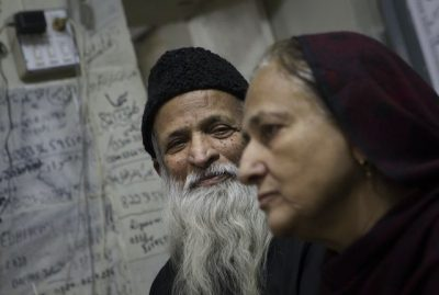 Edhi and his Wife